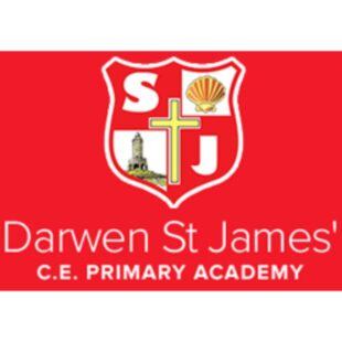Darwen St James School Logo
